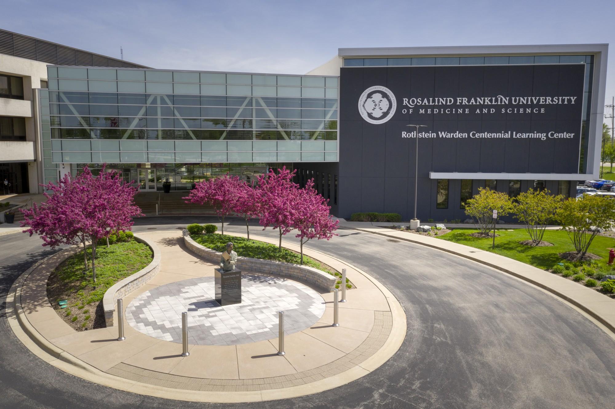 Location · Rosalind Franklin University medical schools in Chicago