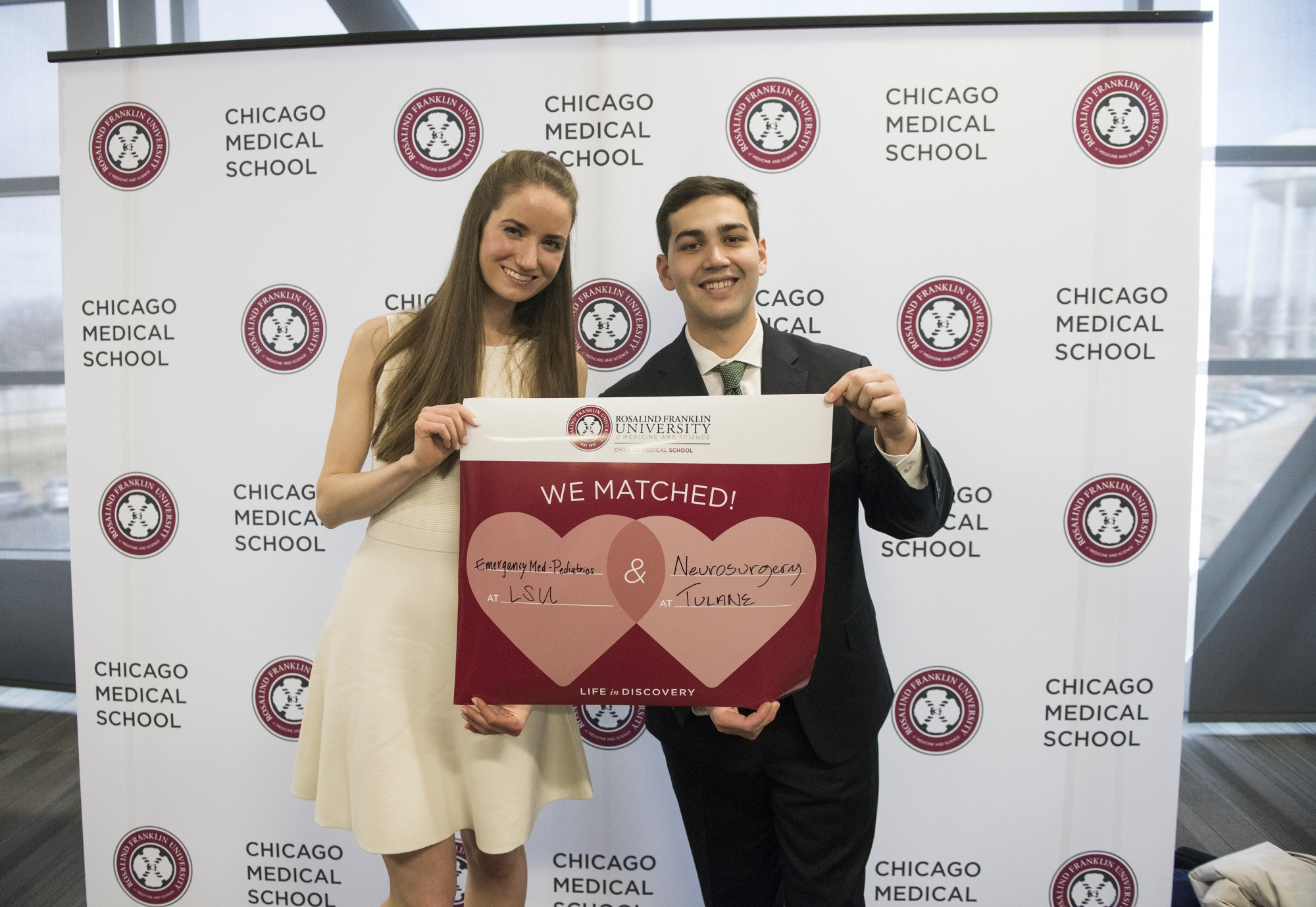 Chicago Medical School Celebrates Match Day · Rosalind